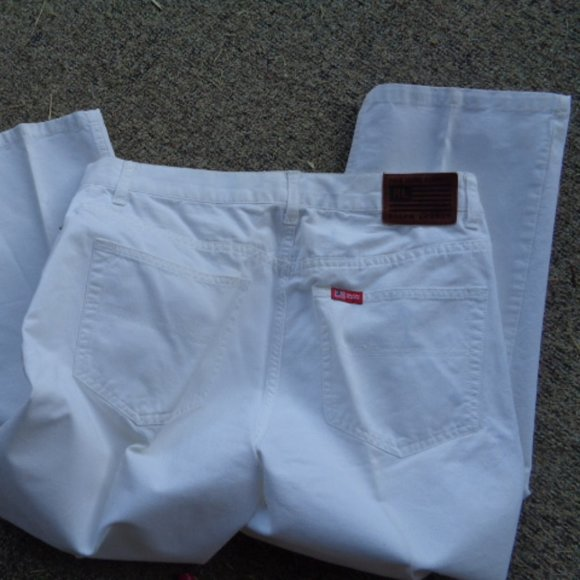 Polo by Ralph Lauren Jeans vtg white jeans